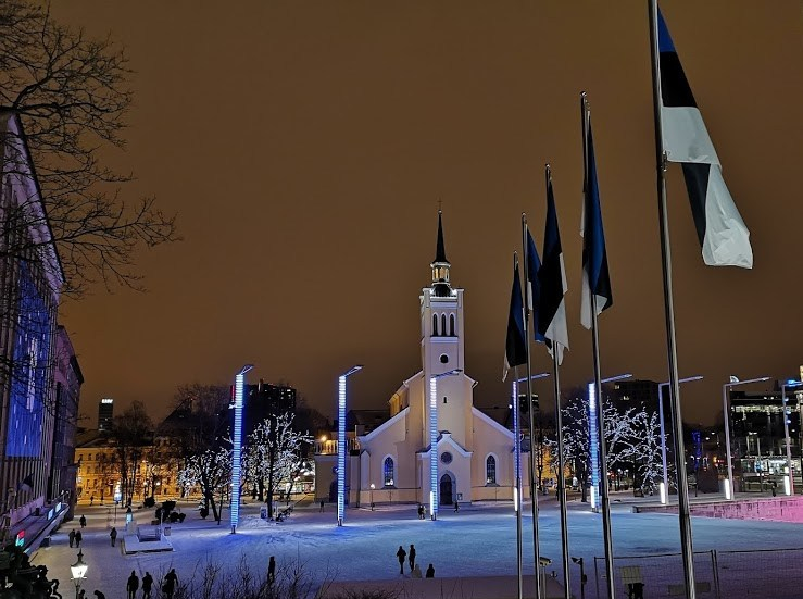 Tallinn, Estonia – New Year 2018/2019