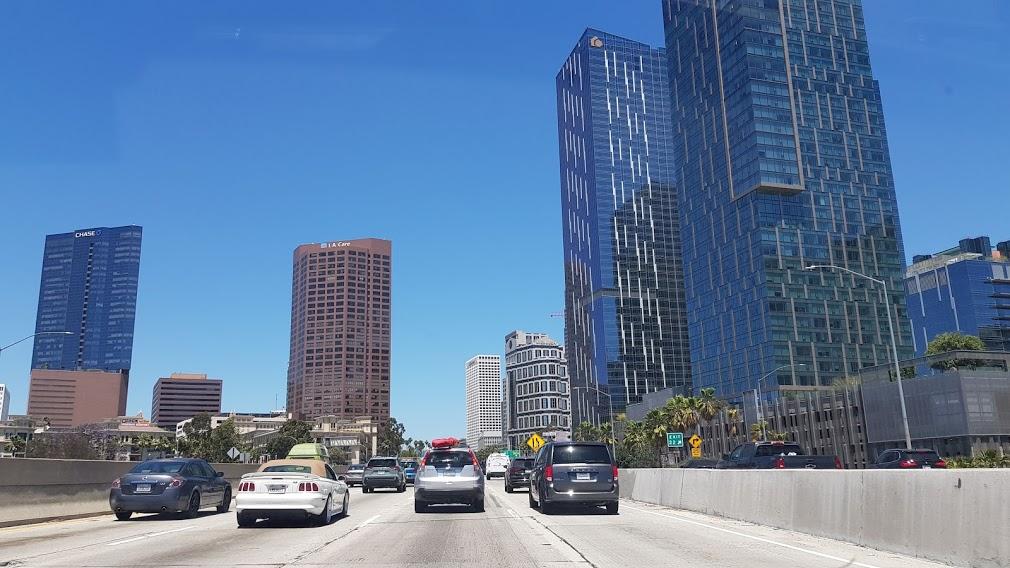 Arriving in Los Angeles, California – June2021
